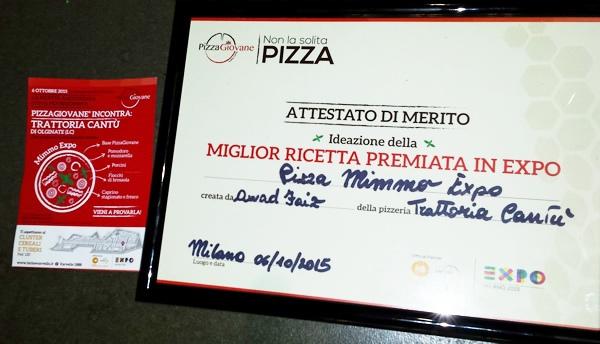 Awad  Faiz Mimmopizza by Pizza.it