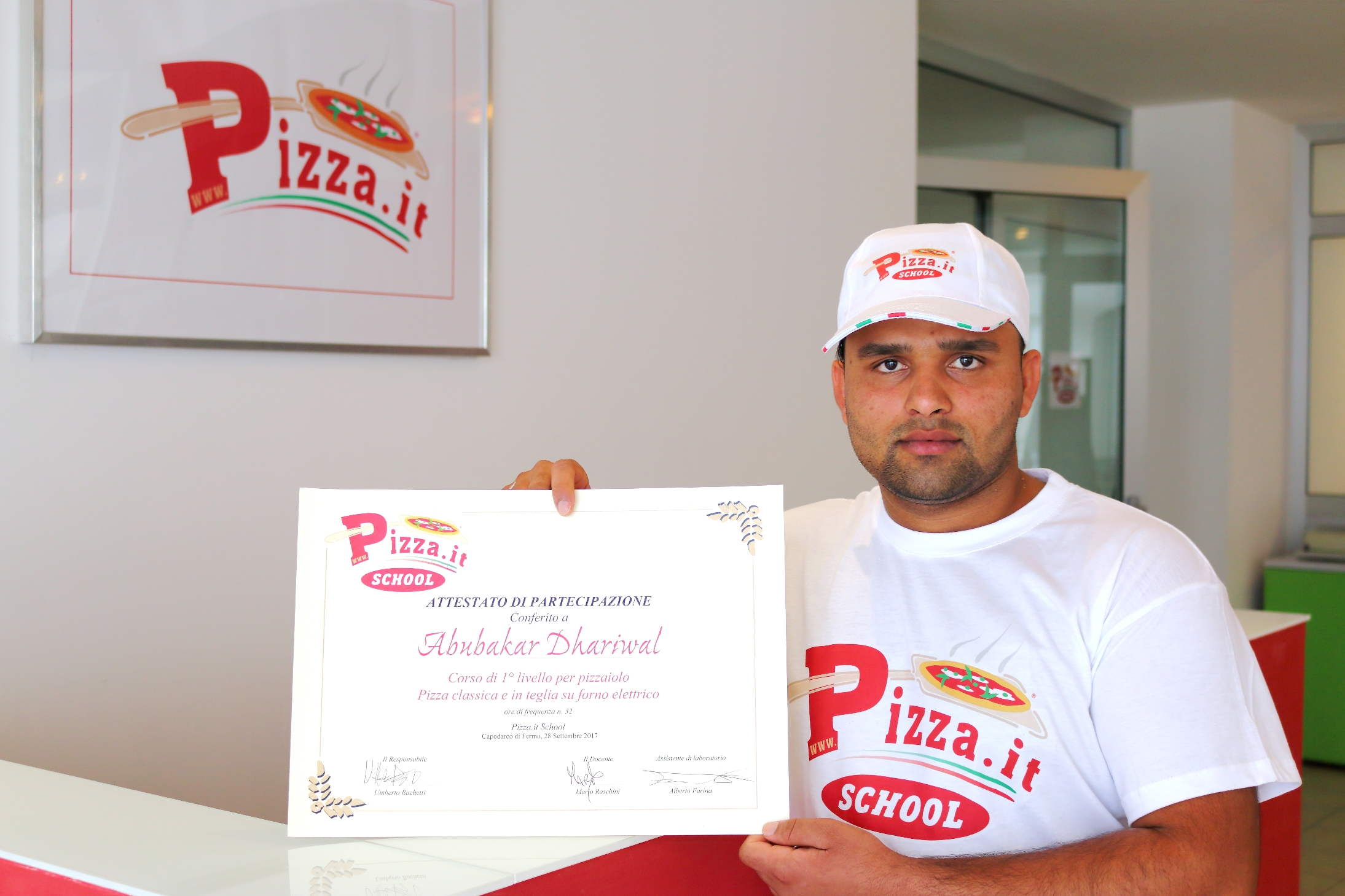Abubakar Dhariwal - Pizza.it School