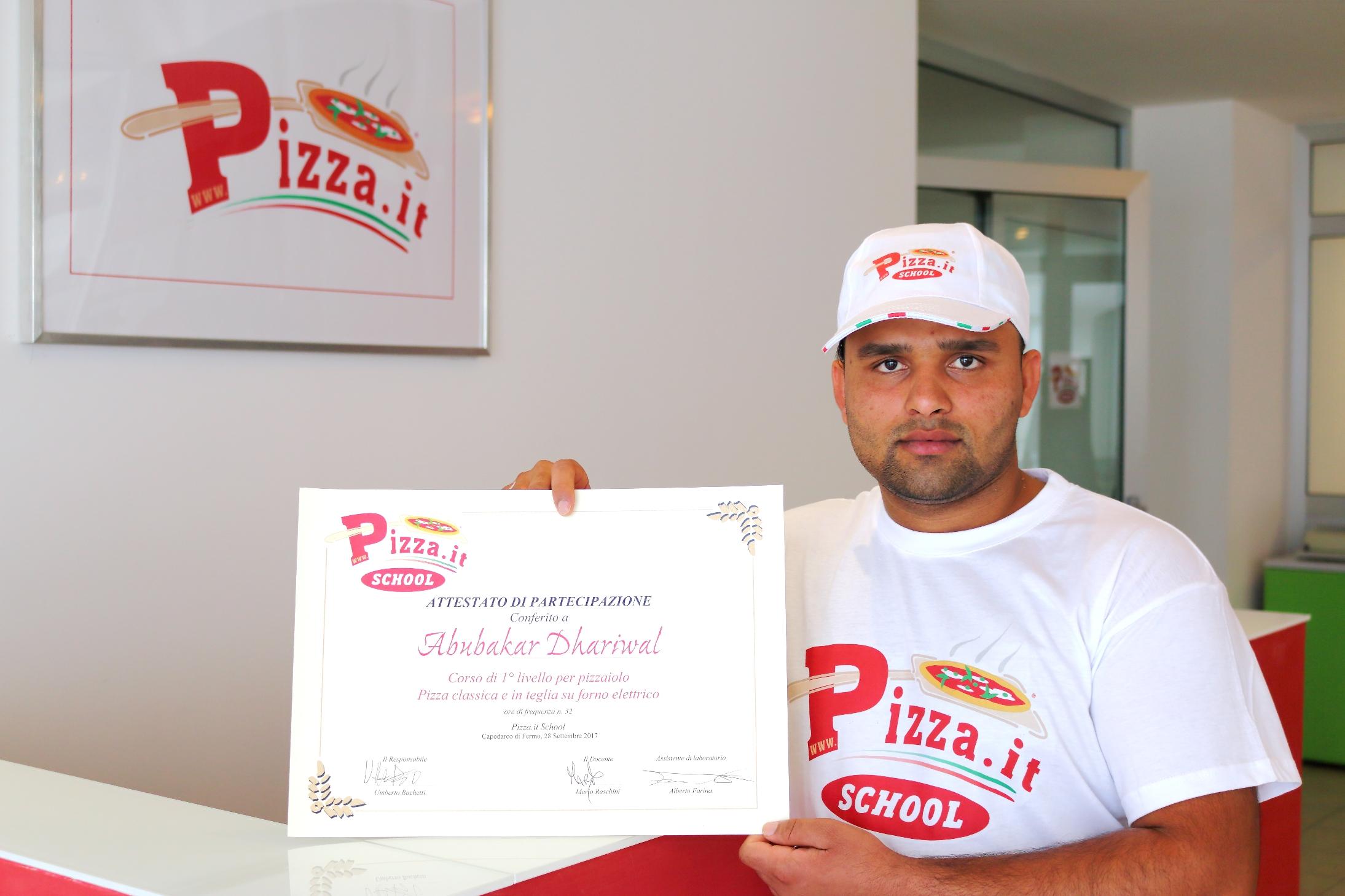Abubakar Dhariwal - Pizza.it School