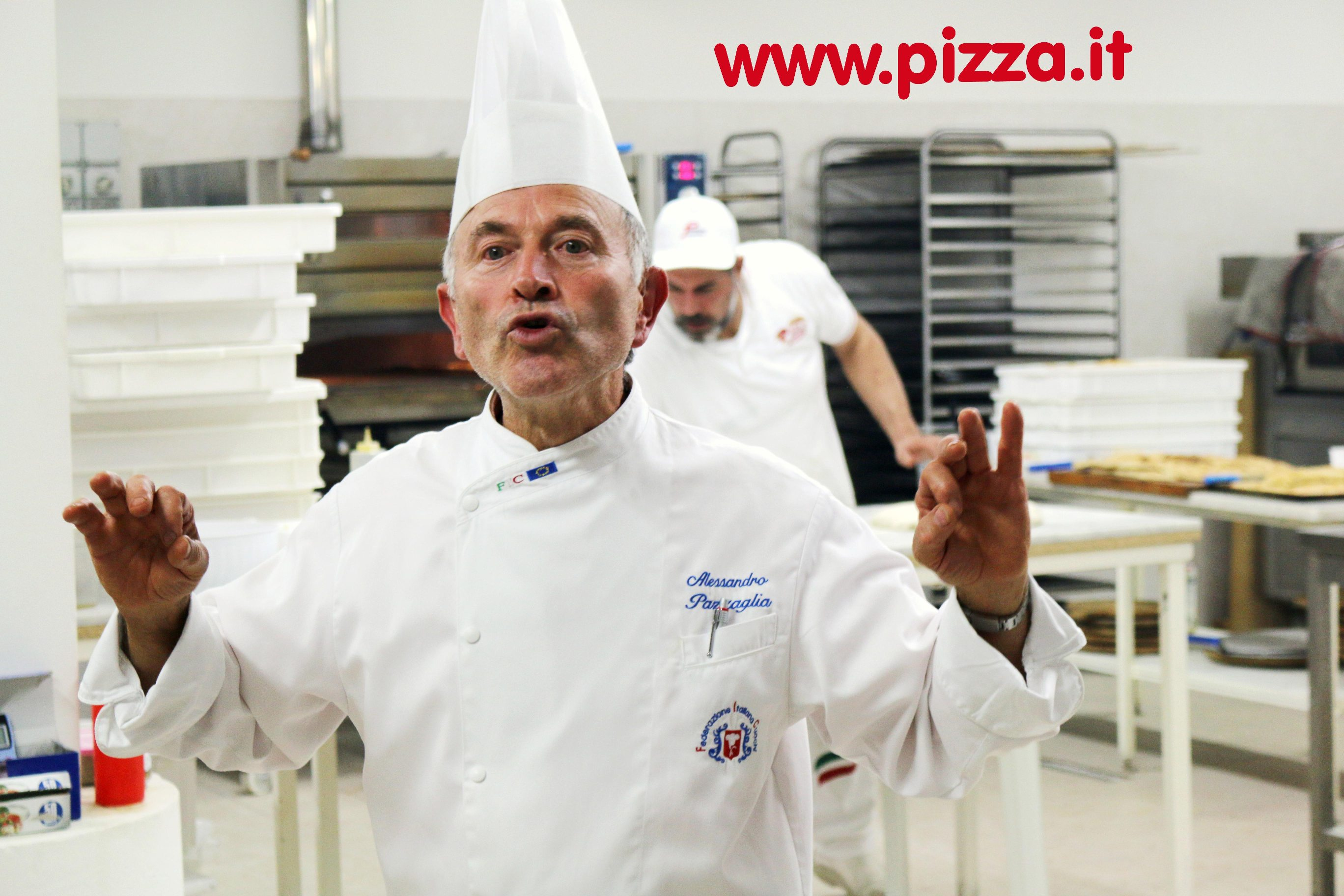 Alessandro Pazzaglia Chef - Pizza.it School