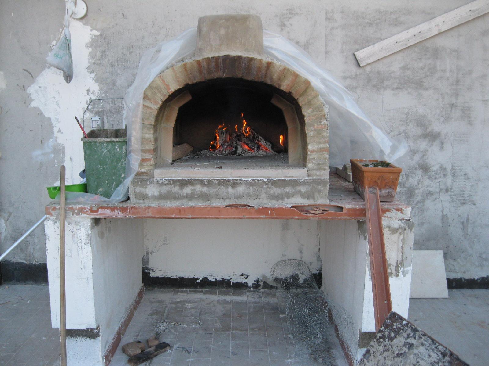 Il mio forno a legna forum attrezzature in pizzeria su - Temperatura forno a legna pizza ...