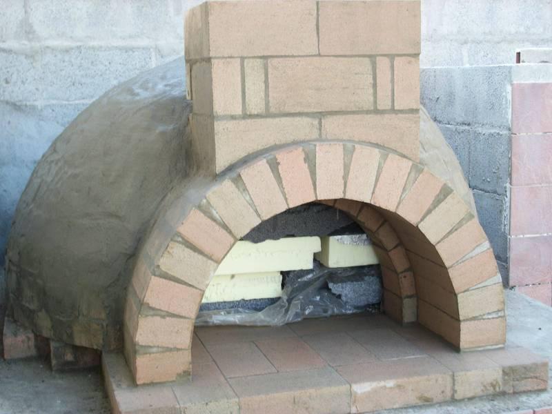 Forni a legna prefabbricati Forni pizza da incasso - Linea Vz