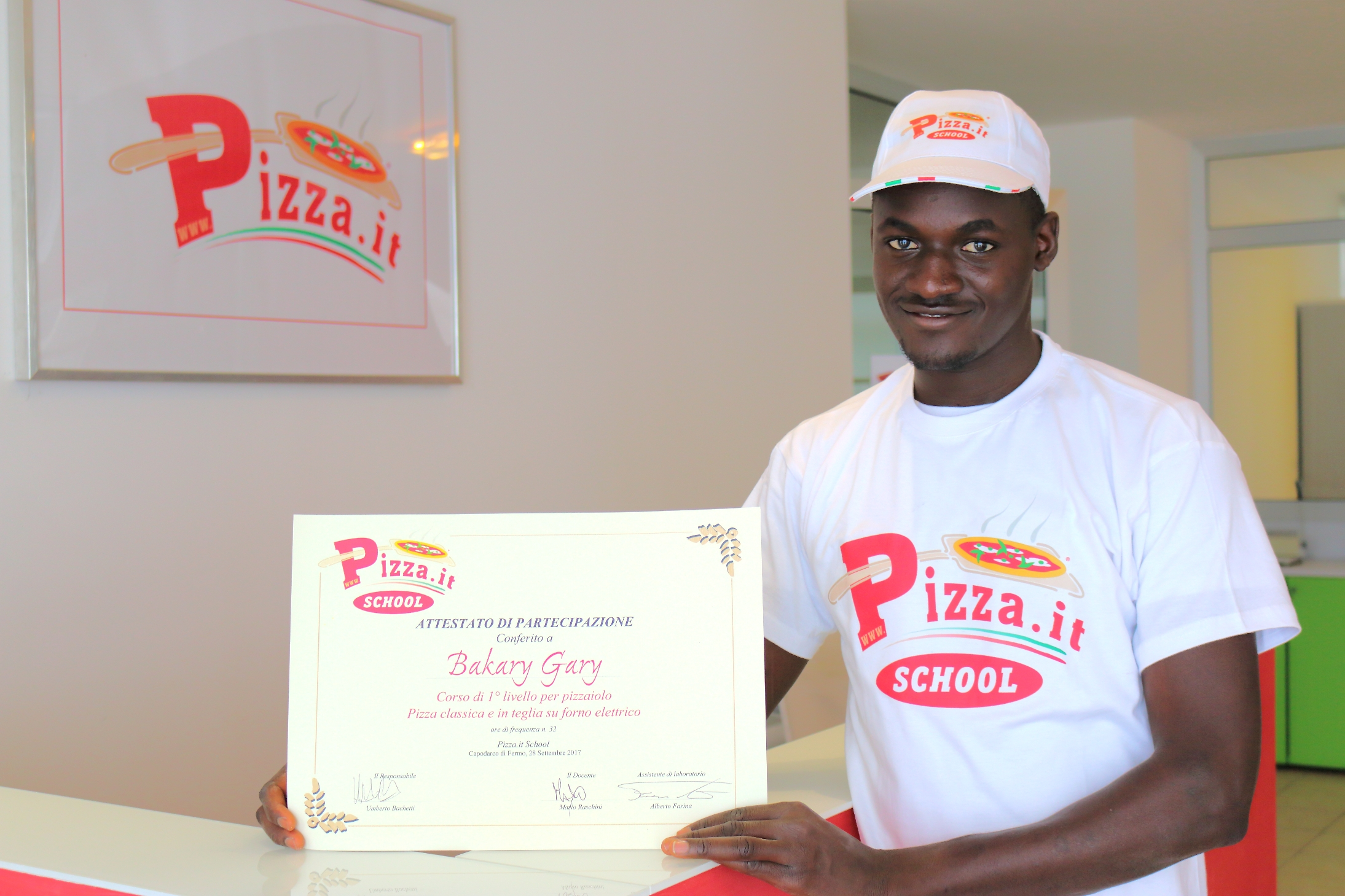 Bakary Gary - Pizza.it School