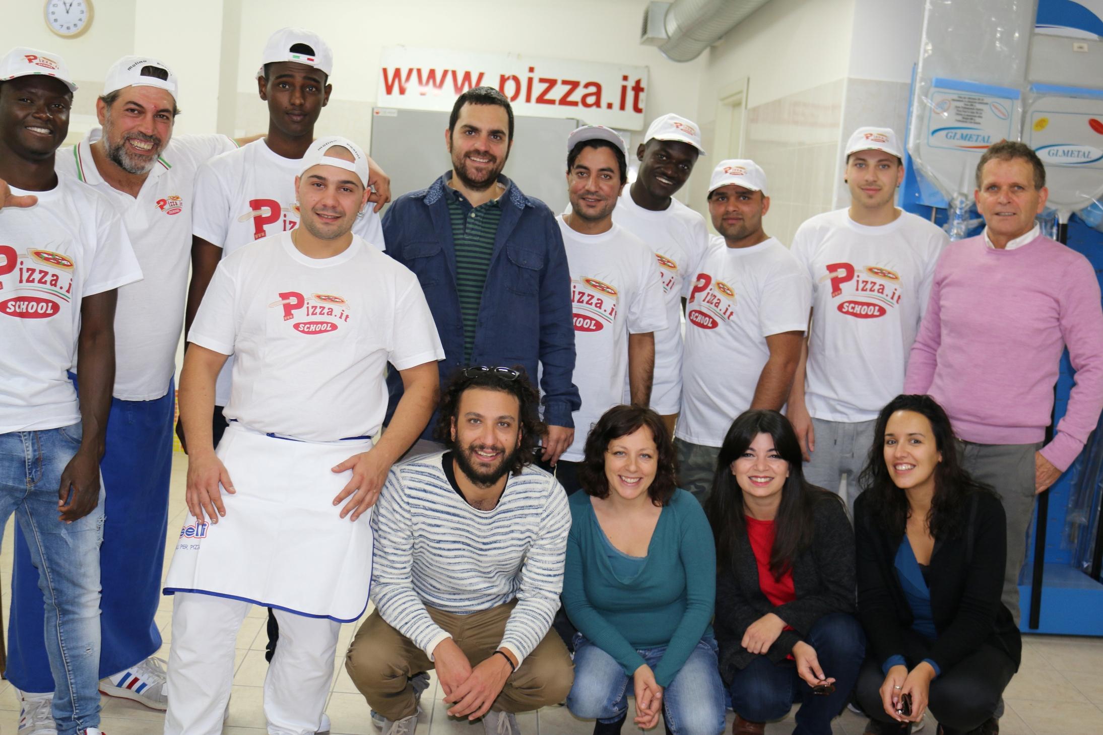 Allievi corso pizzaioli- Pizza.it School
