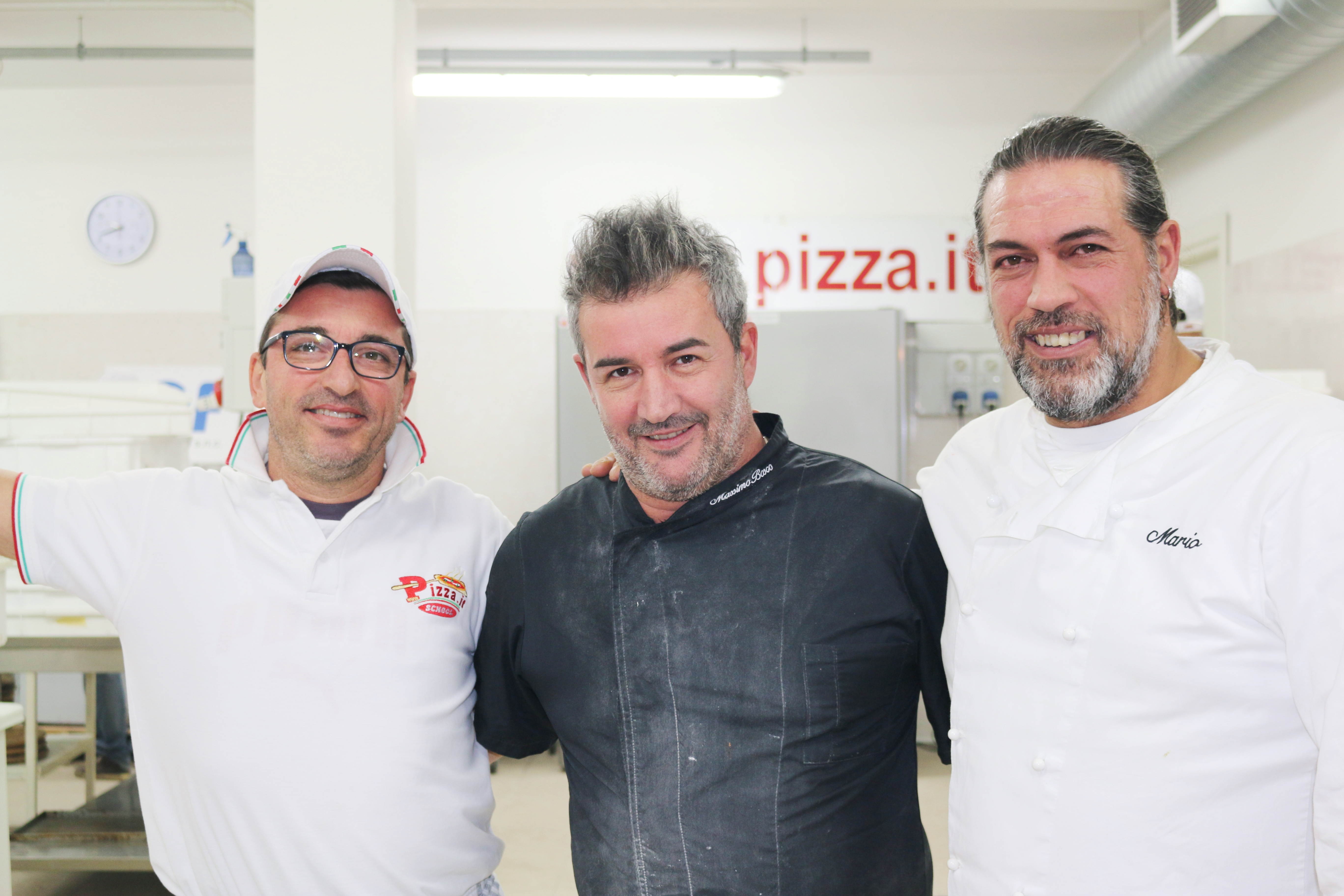 Pizza.it School e Massimo Bosco, Giammario Raschini, Massimo Quondamatteo