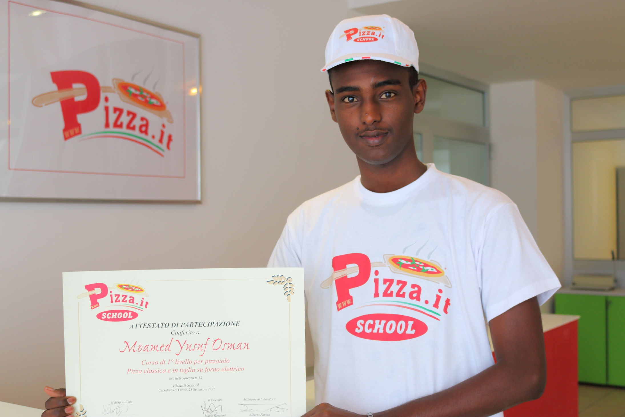Moamed Yusuf Osman - Pizza.it School