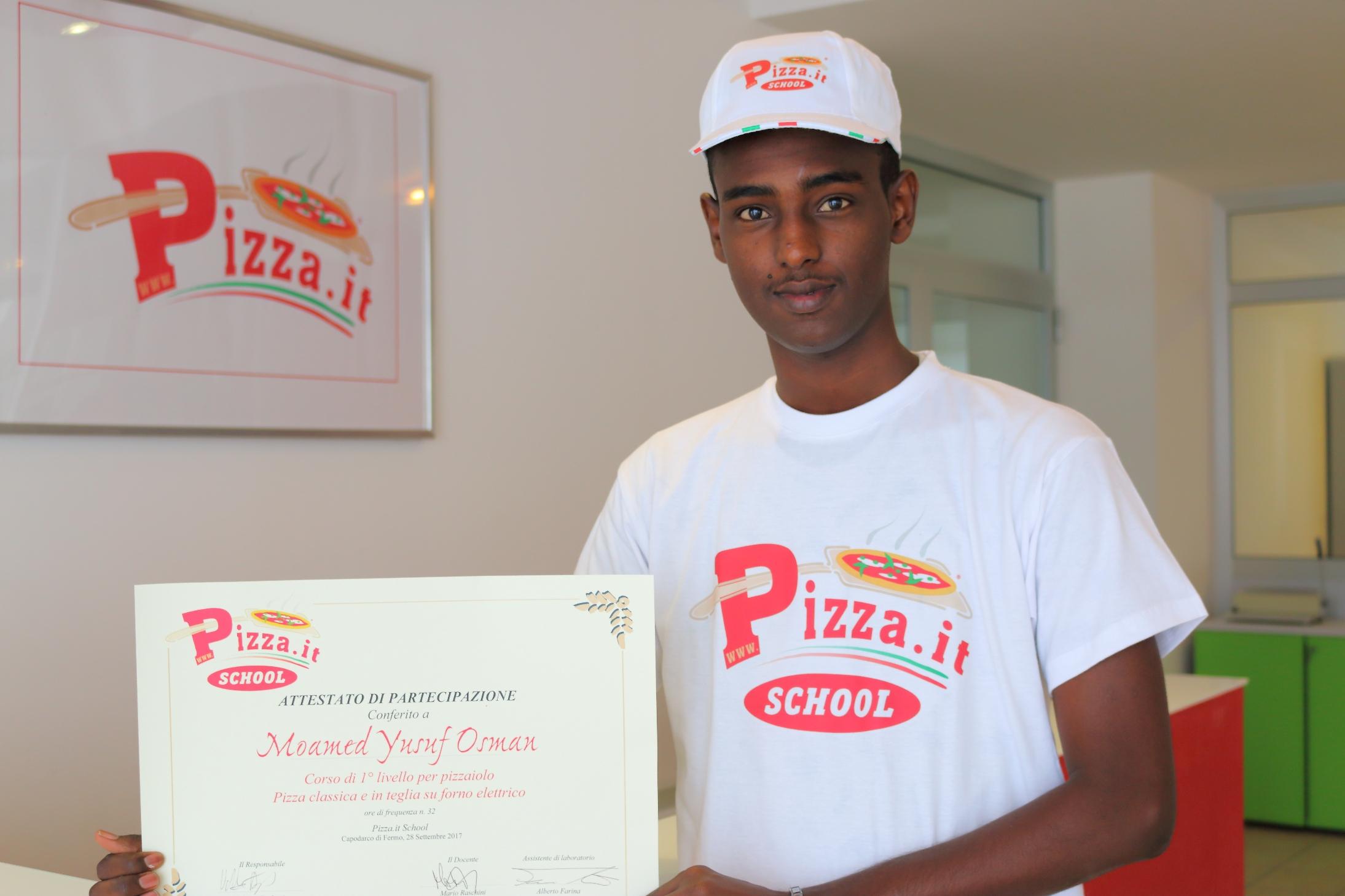 Moamed Yusuf Osman - Pizza.it School