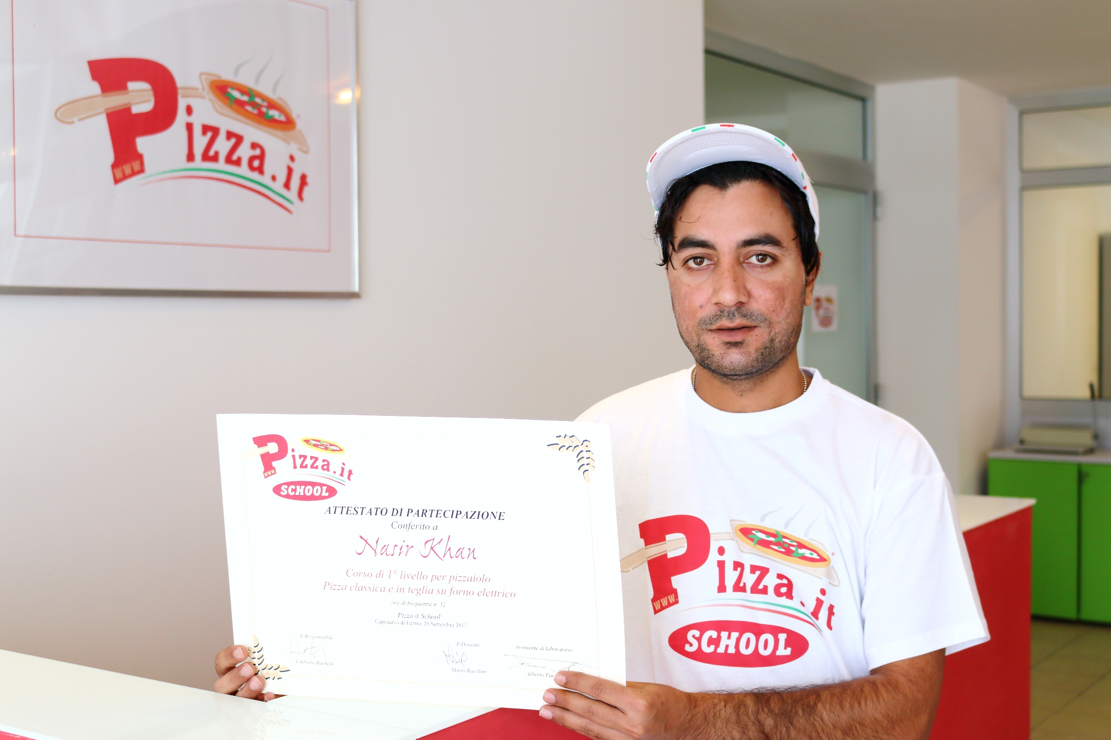 Nasir Kan - Pizza.it School
