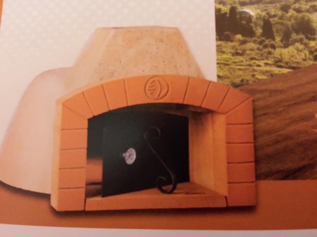 Forno a legna mattoni refrattario 80 cm pizza pane casa for Mattoni refrattari per forno a legna