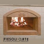 Fiesoli Arte forno per pizza in terracotta refrattaria
